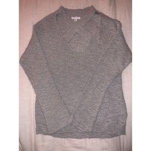 X Cut Sweater